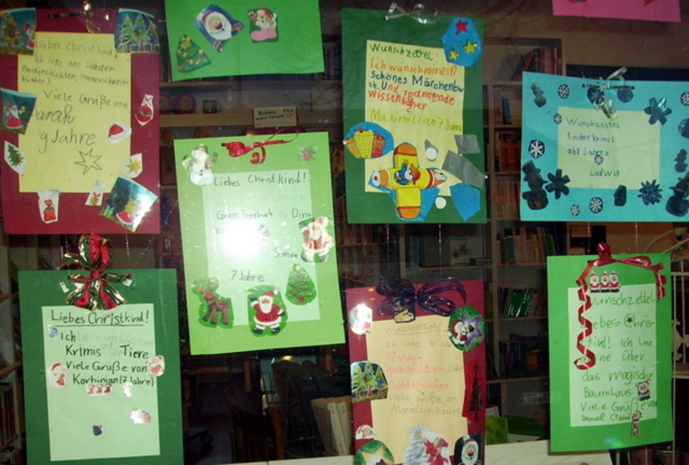 Die Kinder Hatten Die Originelle Idee Das Christkind Auf Ihre Wünsche Auf  Besondere Weise ...